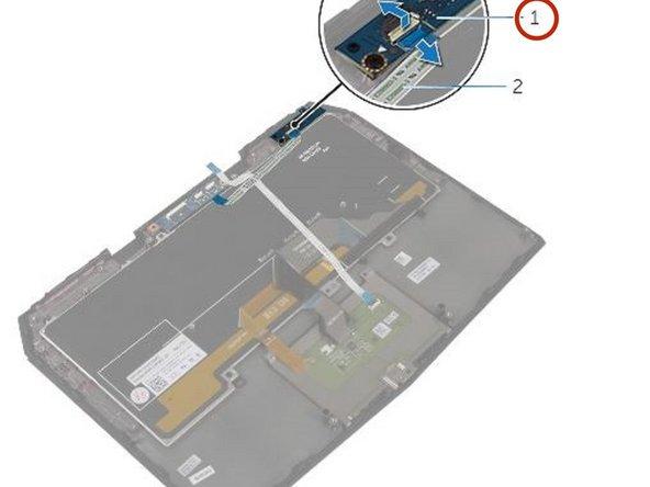 Dell Alienware 13 Status-Light Board Replacement