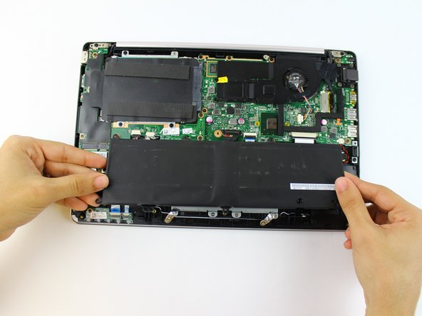 Lift and remove the battery.