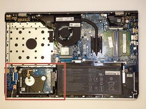 HP Pavilion 15-cc123cl Hard Drive Replacement