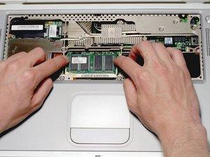 PowerBook G4 Titanium Onyx RAM Replacement