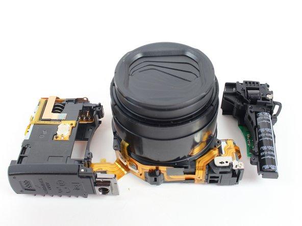 Canon PowerShot G1 X Mark II Lens Replacement