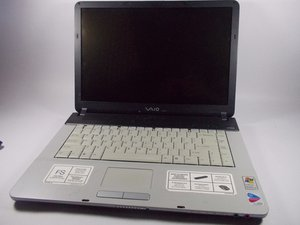 Vaio FS series VGRFS640 Repair