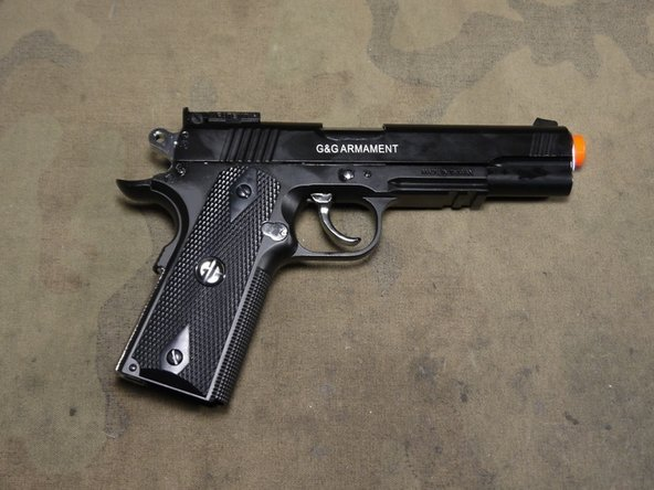 G&G Xtreme45 airsoft Disassembly