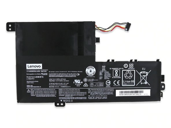 Lenovo IdeaPad 330S Battery Replacement