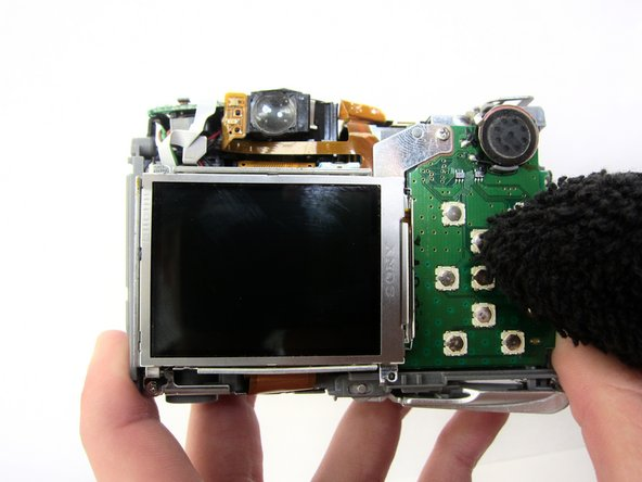 How to clean Canon PowerShot A550 buttons