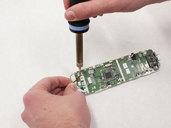 Use a soldering iron to loosen the soldering on the contact points. If heated properly, the contacts should be loose enough that the speaker can easily be removed.
