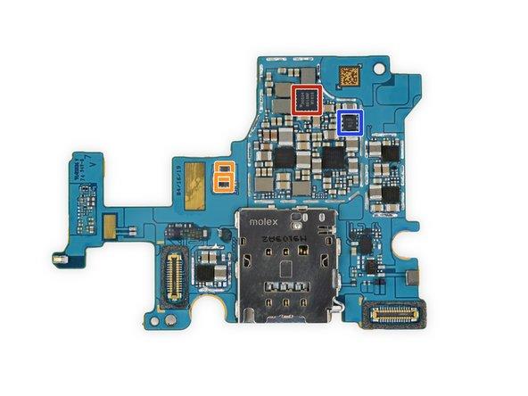 SIM card PCB IC ID continued, plus bonus touchscreen chips: