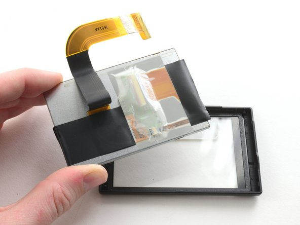 Remove the LCD from the screen cover.
