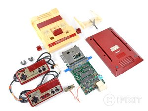 Nintendo Family Computer (Famicom) Teardown