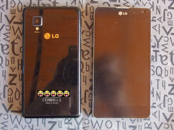 LG Optimus G Battery Replacement