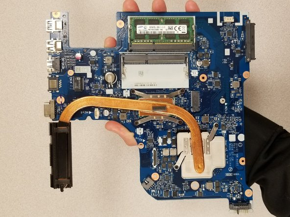 Lenovo Z70-80 Motherboard Replacement
