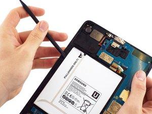 Samsung Galaxy Tabのバッテリー交換