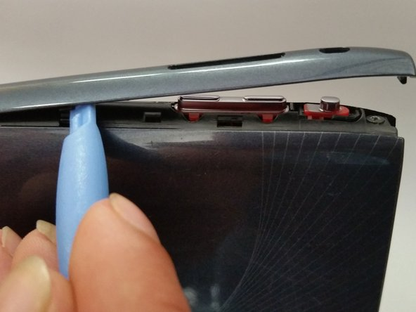 Remove the four side pieces of the tablet.