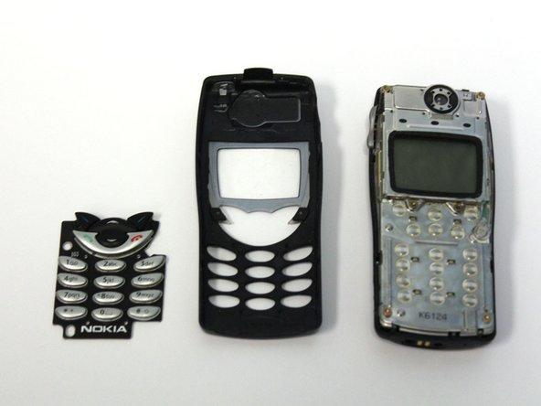 Remplacement du clavier du Nokia 8290