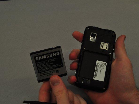 Repairing Samsung Galaxy S SCH i500 Battery
