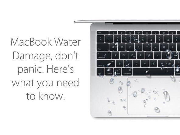 MacBook water damage diagnostic
