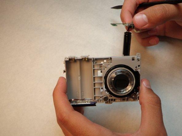 Sanyo VPC S1275 Flash Mechanism Replacement