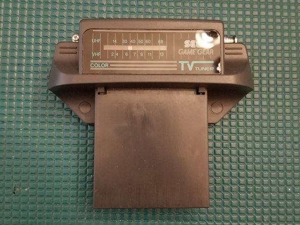 Sega Game Gear TV Tuner Disassembly