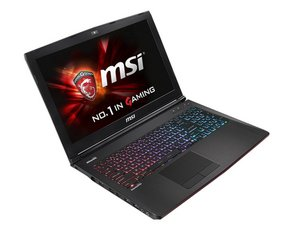 MSI GE62 2QC Apache Repair