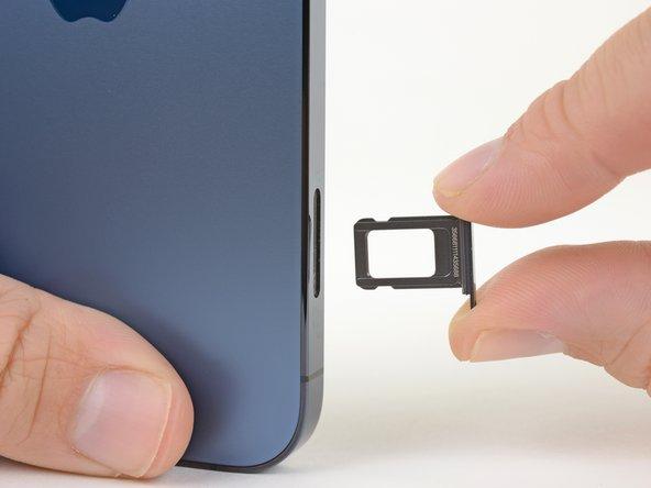 Remplacement de la carte SIM de l'iPhone 12 Pro