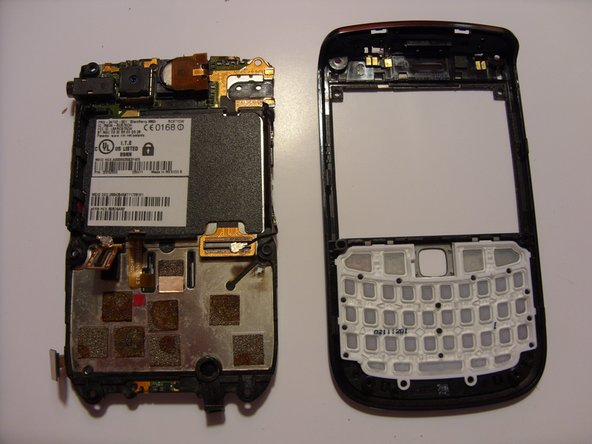 Blackberry Bold 9650 Faceplate Replacement