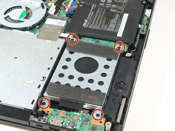 Asus Q551L Repair Hard Drive Replacement