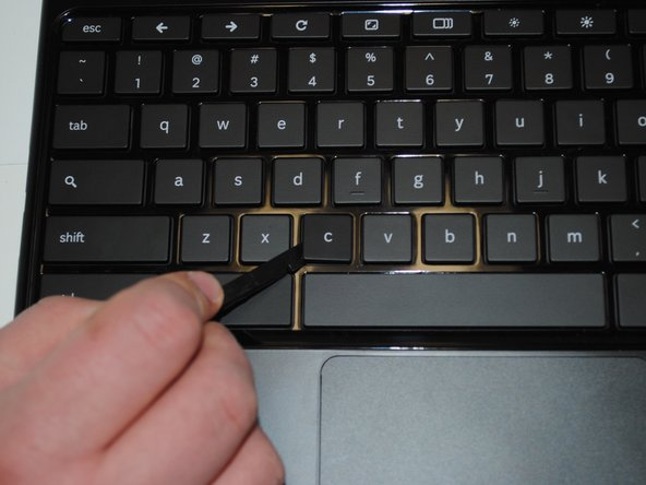 You can skip this step if the key cap has already fallen off, and you are just trying to put it back on.