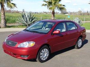 2000-2007 Toyota Corolla Repair