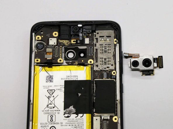 Motorola Moto G7 Plus  Rear Camera Replacement