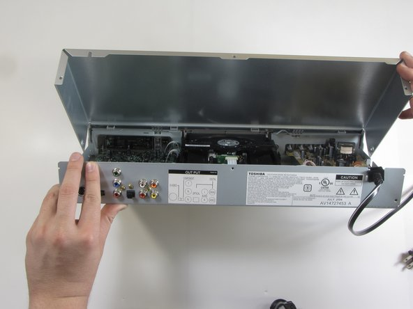 Toshiba SD-K740 Top Panel Replacement