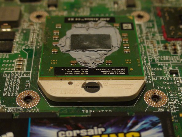 Dell Inspiron 1521 Central Processing Unit (CPU) Replacement