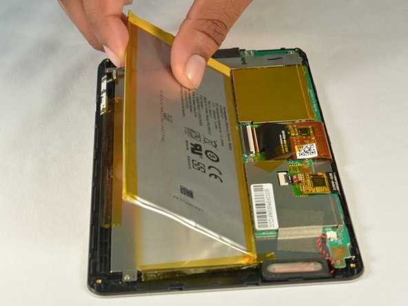 HP 7 Plus 1302 Battery Replacement