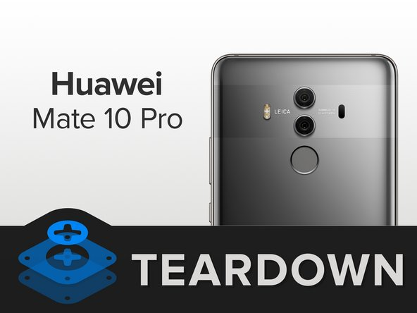 Let's start this teardown with a brittle hard fact — Huawei added a glass back to the Mate Pro 10 to align more closely with its competition.
