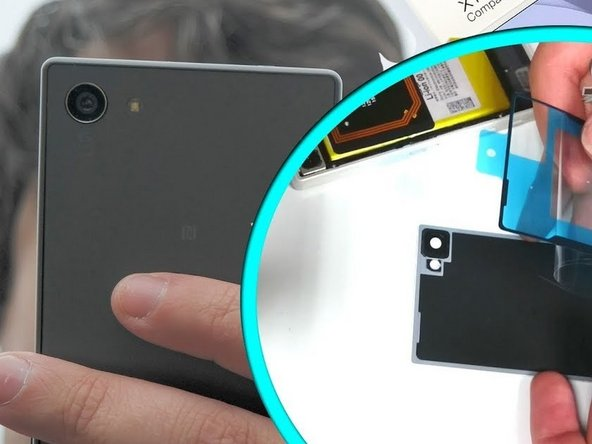 Sony Xperia Z5 Compact Back cover Replacement