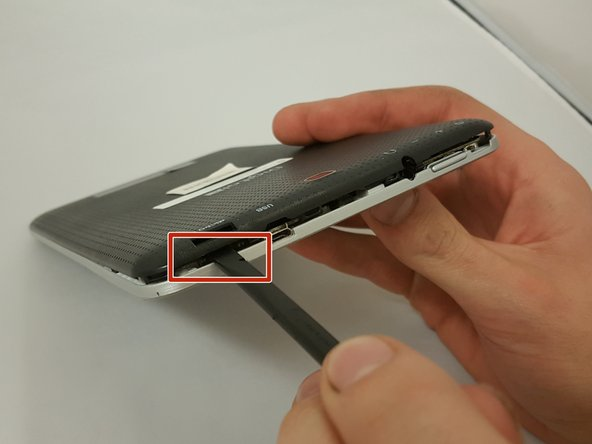 Do not use a lot of force as it can break the clips or the back panel.