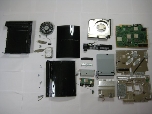 Consider your PS3 disassembled.