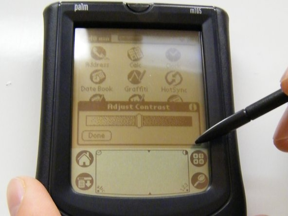 Palm m105 Display Screen Replacement