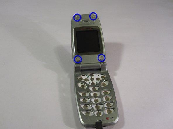 Remplacement de l'écran du LG VX4400