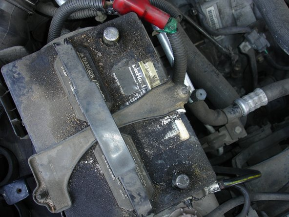 Disconnect the battery. This is especially important because you're going to be working near the airbag.