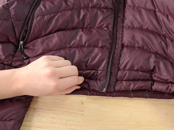 Installing A Main Zipper In Your Patagonia Down Jacket