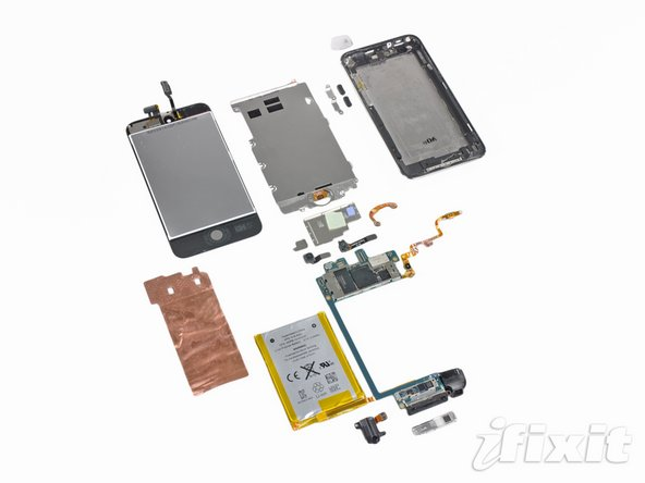 iPod Touch 4th Generation Repairability: 4 out of 10 (10 is easiest to repair)
