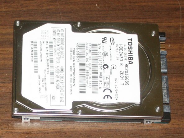 Toshiba Satellite L305D-S5950 Hard Disk Drive Replacement