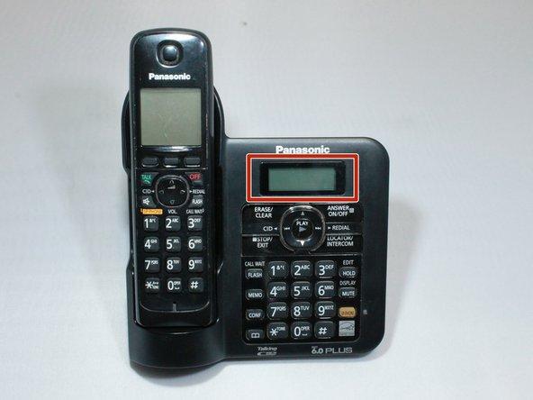 Panasonic KX-TG6641 Base Display Screen Replacement