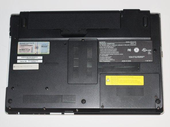 Sony Vaio PCG-61112L Back Case