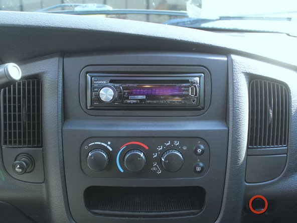 Fold up your center console and take a seat with a good view of your stereo.
