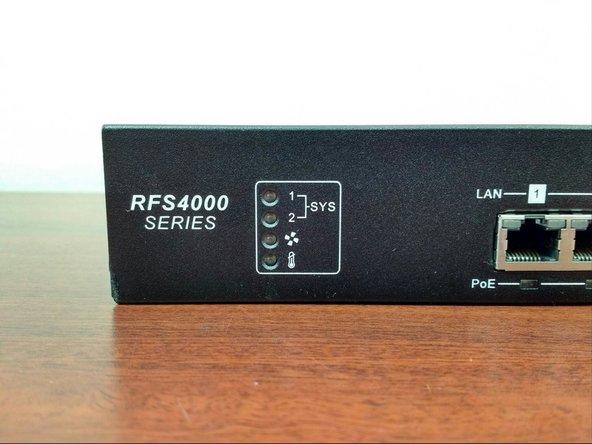 Motorola RFS4000 Disassembly