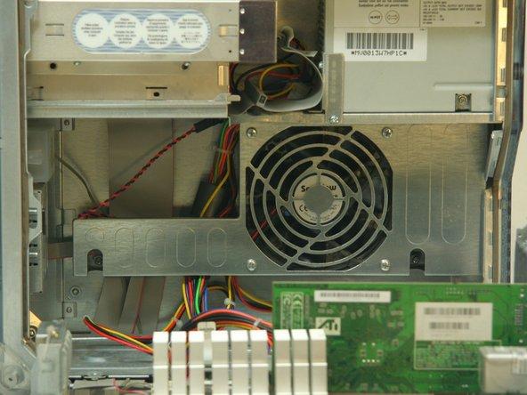 PowerMac G4 M5183 Hauptlüfter entfernen