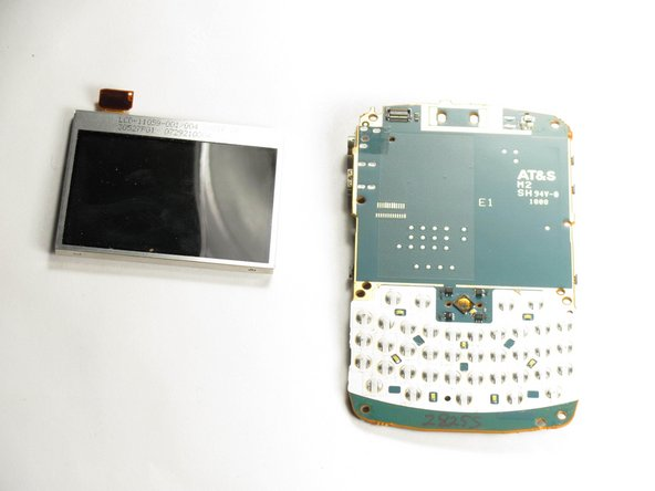 Blackberry Curve 8320 LCD Screen Replacement