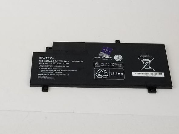 Sony Vaio Fit SVF14A190X  Battery Replacement