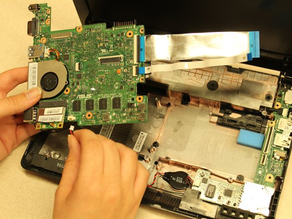 Asus 1015E-DS03 Motherboard Replacement